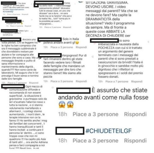 """GRANDE FRATELLO VIP 4"" - Instagram"