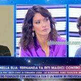 """""""GRANDE FRATELLO VIP 4"""": A """"LIVE – NON E' LA D'URSO"""" FERNANDA LESSA ED IL MARITO LUCA, INTERVENUTO IN STUDIO IN FAVORE DELLA MOGLIE.. """"HA SUBITO ATTACCHI FISICI, E' LA SECONDA VOLTA CHE VIENE FATTO ED E' FUORI REGOLAMENTO"""". E L'INVOCATA SQUALIFICA DI ANTONELLA ELIA PERORATA A GRAN VOCE ANCHE DA VALERIA MARINI.."""