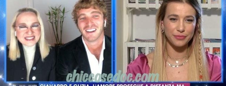 """""""GRANDE FRATELLO VIP 4"""" - A """"Live - Non è la d'Urso"""", Paolo Ciavarro difende il suo rapporto con la fidanzata Clizia Incorvaia.."""