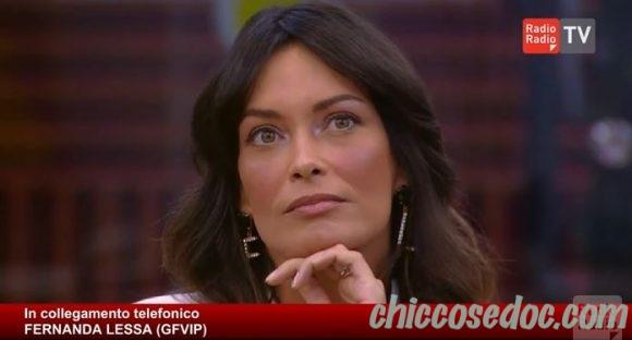"""GRANDE FRATELLO VIP 4"" - Fernanda Lessa in radio.."