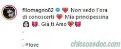 Un emozionato Filippo Magnini svela il colore del fiocco in arrivo per lui e la compagna Giorgia Palmas..
