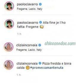 """""""GRANDE FRATELLO VIP 4"""" - Paolo Ciavarro e la fidanzata Clizia Incorvaia finalmente a Fregene, a mesi dal promesso appuntamento al tramonto.."""