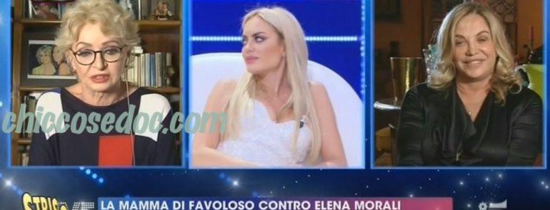 """""""STRISCIA LA NOTIZIA"""" - Elena Morali, irritata dalle critiche di Simona Izzo ed Enrica Bonaccorti a """"Live - Non è la d'Urso"""", in classifica fra i """"Nuovi Mostri"""" per il suo exploit contro le due opinioniste.."""