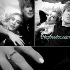 """<b>""""GRANDE FRATELLO VIP 4"""" - Paolo Ciavarro e la fidanzata Clizia Incorvaia al party a Como.. Fonte: Instagram Stories</b>"""