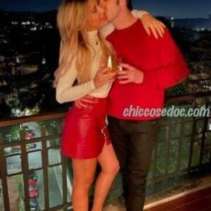 """<b>""""GRANDE FRATELLO VIP 4"""" - Paolo Ciavarro e la fidanzata Clizia Incorvaia, insieme, a casa di lui a Roma..  Fonte: Instagram</b>"""