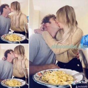 """<b>""""GRANDE FRATELLO VIP 4"""" - Paolo Ciavarro e la fidanzata Clizia Incorvaia, insieme, a casa di lui a Roma..  Fonte: Instagram Stories</b>"""