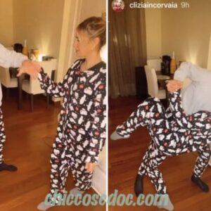 """<b>""""GRANDE FRATELLO VIP 4"""" - Capodanno a passo di danza, insieme a Roma, per Paolo Ciavarro e la fidanzata Clizia Incorvaia.. pronti ai tanti cambiamenti per loro in arrivo..  Fonte: Instagram Stories</b>"""