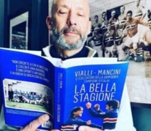 """DAI SOCIAL.. GIANLUCA VIALLI PRESENTA """"LA BELLA STAGIONE"""", IL LIBRO CHE A SCOPO BENEFICO RIPERCORRE CON ROBERTO MANCINI E GLI ALTRI CALCIATORI DELLA """"SAMPDORIA"""" CAMPIONE D'ITALIA L'INCREDIBILE AVVENTURA BLUCERCHIATA FATTA INSIEME 30 ANNI FA.."""