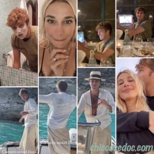 """<b>""""GRANDE FRATELLO VIP 4"""" - Vacanza riassunta in un """"reel"""" al bacio di nuovo a Lampedusa per Paolo Ciavarro e la fidanzata Clizia Incorvaia..  Fonte: Instagram Stories</b>"""