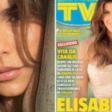"""ELISABETTA CANALIS SULLA NUOVA COVER DI """"TV SORRISI E CANZONI"""", DOPO L'ANNUNCIATO RITORNO SUL PICCOLO SCHERMO DA PADRONA DI CASA NEL SALOTTO DI """"VITE DA COPERTINA"""".."""