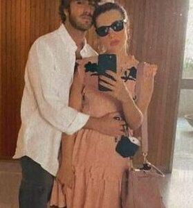 """""""GRANDE FRATELLO VIP 4"""" - Paolo Ciavarro e la fidanzata Clizia Incorvaia in dolce attesa.. <b>Fonte: Instagram Stories</b>"""